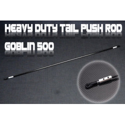 Heavy Duty Tail Push Rod -Goblin 500