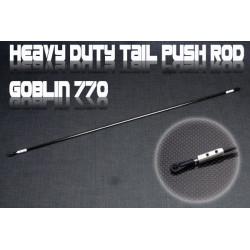Heavy Duty Tail Push Rod -Goblin 770