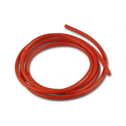 Cable de silicone - 2.5mm² x 1.000mm - rouge