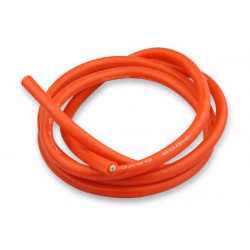Cable de silicone - 6mm² x 1.000mm - rouge
