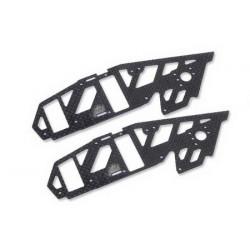 Upper Carbon Side Frame MJX F45 (2 pcs)