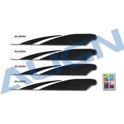 120 Main Blades Black /Pales Principales Noires (HD123AT)