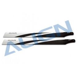325 Carbon Fiber Blades/ Pales Principale fibre carbone (HD320ET)