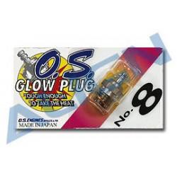 O.S. 8 Glow Plug /Bougie OS 8 (HE50H07T)