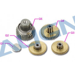 DS425M Servo Gear Set/Pignon servo (HSP42501T)