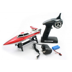 FastWave F1 Stingray Mini Racing Boat w/2.4Ghz - Red