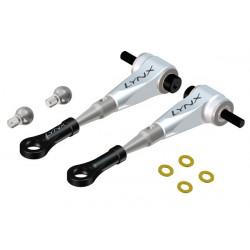 T-REX 450 L / PRO - Ultra DFC Arm - Set - Silver (LX0605)