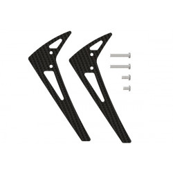 TREX 150 - Vertical Fin X Cooled Tail Motor Support - Spare (LX0946)