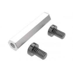 Entretoise et visanticouple/Distance bolt for tail gear box LOGO 480 (04832)