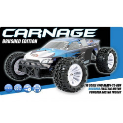 FTX Carnage 1/10 Brushed Truck 4WD RTR 2.4Ghz / Waterproof (FTX5538)