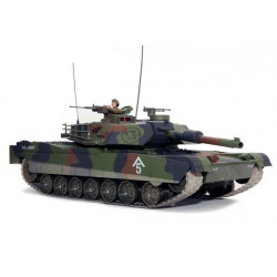 Hobby Engine Char M1A1 Abrams 1/16 Battle Tank 27Mhz - Camouflage