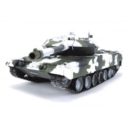Hobby Engine Char Leopard 2A6 1/16 Tank France 27Mhz - White