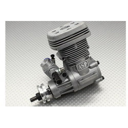 Moteur 2Temps - ASP S52H Two Stroke Glow Engine for 50 size Helicopter