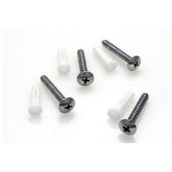 Random Heli Vis et cheville Maconnerie/Drywall Anchors - Assembly 8mm-9mm (HDW-ANC-MAS-8)