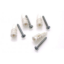 Random Heli Vis et cheville Placo/Drywall Anchors - Assembly 5.5mm-6.5mm (HDW-ANC-TOG-6)