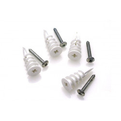 Random Heli Vis et cheville Placo/Drywall Anchors - Assembly 8mm-9mm (HDW-ANC-TOG-8)