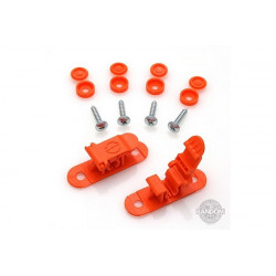 Random Heli Attache rapide de transport/Skid Clamp Assembly 5.5mm-6.5mm Orange (STC5565-O)
