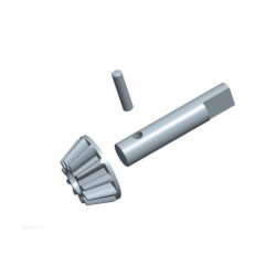 ACME 1/10 Rc Car Main pinion gear w/shaft and pin 1 set