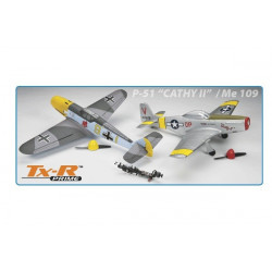 AirCoreAvion Warbird P-51 et Me 109 Tx-R Prime DuoPack (FLZA3902)