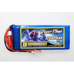 Giant Power battery LIPO 2000mAh 11.1V TX (15X46X102mm) (GN-LP3S2000-TX)