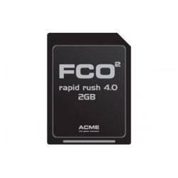 FCO2 Rapid Rush 8.0 2GB Micro SD-Card (Include SD-Card Adaptator) (FC2002)