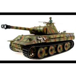 Tank German Panther 1:16 - Metal Upgrade 2.4Ghz - Dark Green Camouflage (TG3819-1PRO)