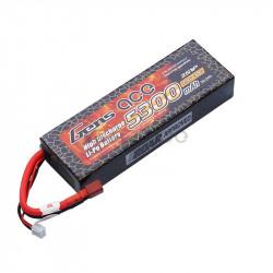 Gens ace 5300mAh 7.4V 30C 2S1P HardCase Lipo Battery 21 (B-30C-5300-2S1P-HardCase-21)