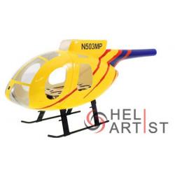 Heliartist Hughes MD500E Fibre Glass Fuselage class 450 (HA450HUV2006)