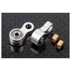 Metal Tail Control Link w/ Bearings v2 (Trex 500, 550, 600, 700) (HPAT55008)