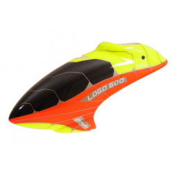 Canopy LOGO 600XX neon-red / neon-yellow (04797)