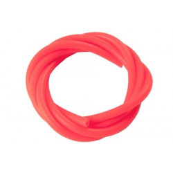 Durite silicone Rouge /Nitro Tube Sinicon (2.5x5.0mm) Red x1m (HA092R)