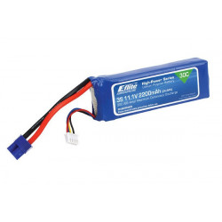 Batterie LiPo 3S 2200mAh 30C 350QX/Blade 450 (EFLB22003S30)