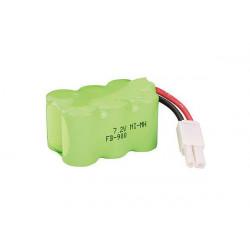 Batterie NiMH 7.2V 1000mAh:FTB,ZZR2/3,AER,FBC,ABC,FC2 (HBZ1012)