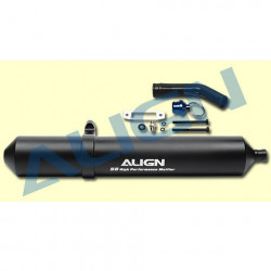 ALIGN Echappement 50 High Performance Muffler (HFM05001T)