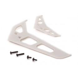 Blade 200 SR X - Dérive et stabilisateur, blanc (BLH2019)