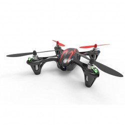HUBSAN H107C X4 Mini Quadcopter With LCD Camera Version - Black/Red (2,4GHz Mode2)