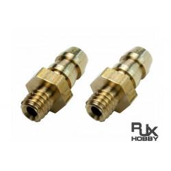 Copper Pressure Fitting 4x3mm (2pcs) (HA193)