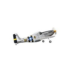 AVION P51 MUSTANG ENV 142 CM,LONG 123 CM,2600G POUR MOT46-55