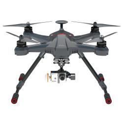 Scout X4 avec DEVO F12E, Nacelle G-3D, TX 5.8G, antenne , Video cable pour Gopro3,ground station, Alum case 1 batteries