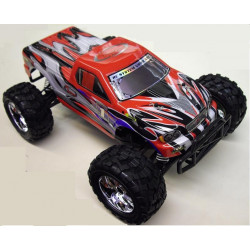 TRUCK 1/10 4x4 BRUSHED RTR 2.4Ghz - ROUGE (RC706T)