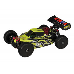 Buggy EB4 S2.5 1/8 4WD RTR 2.4Ghz - VERTE (Thunder Tiger 6243-F113)