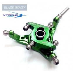 180CFX Plateau Cyclique CNC Aluminium Swashplate (Green)