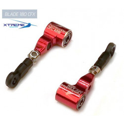 180CFX Bras de commande DFC Turnbuckles DFC ARM (Red) - Xtreme 180CFX Blade Grip