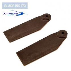 180CFX Plae anticouple Carbon Polymer Tail Blade