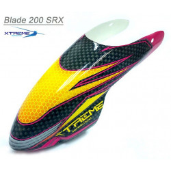 Epoxy Flexible Fiber Glass Canopy ( Painted - Yellow ) B200SRX
