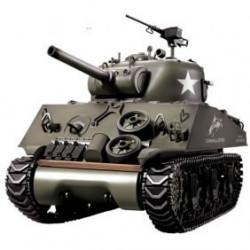 1/16 M4A3 Sherman Char Radiocommandé Avec Fumée et Son (T3898-1)