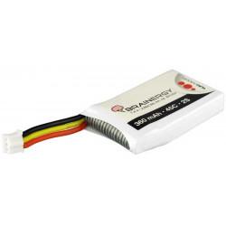 Batterie LiPo 2s1p 7,4V 360mAh 45C BRAINERGY compatible avec JST EH 2S (801204)