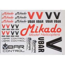 VBar / VControl decal set (04901)