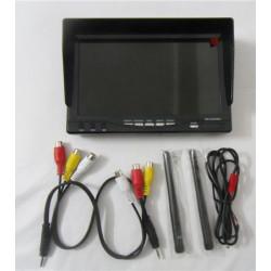 5.8G 32CH Diversity receiver monitor+sunshade+EU charger