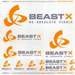 Autocollants / Sticker BeastX (BXA-DB1)